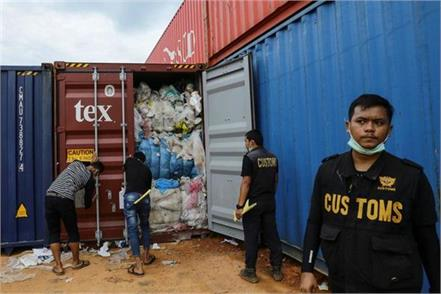 indonesia also sent 100 tons of garbage to canada after trash