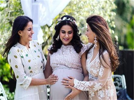 sara arfeen khan celebrates her baby shower
