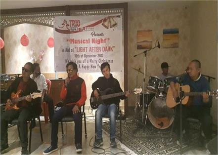 the band of blind musicians in meghalaya