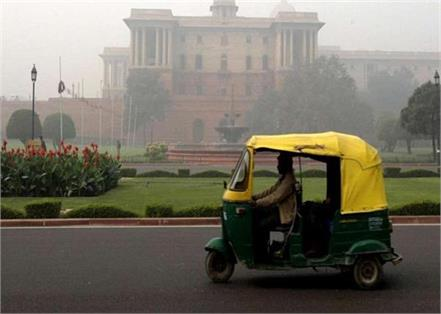 delhi in auto fare increased
