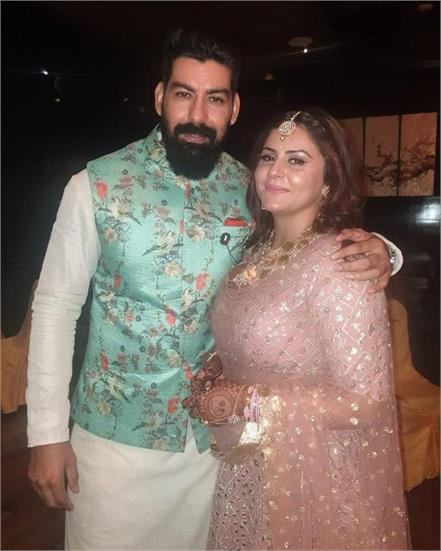 kabir duhan singh gets engaged to singer dolly sidhu