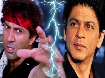 sunny deol didn  t talk to shah rukh khan for 16 long years