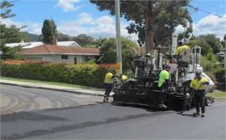 experiment to start roads in australia with waste