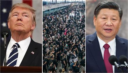 china threatens trump  s statement    hong kong will not go hand in hand