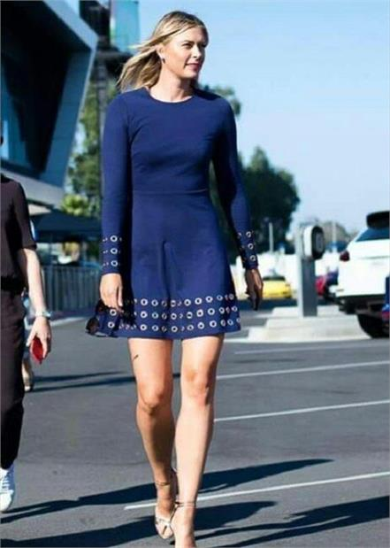 sharapova to appear in new stylish dress at the american open