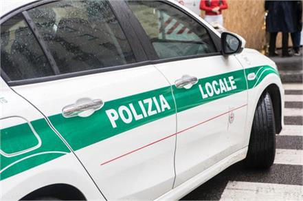 italy invader attacks security guard while shouting   allah who akbar