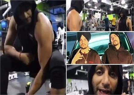karanvir bohra enjoying gym with same beef song