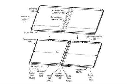 microsoft is working on foldable surface devices