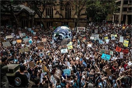 australia climate change demonstration