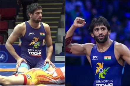 bajrang and ravi won bronze medal at the world wrestling champion