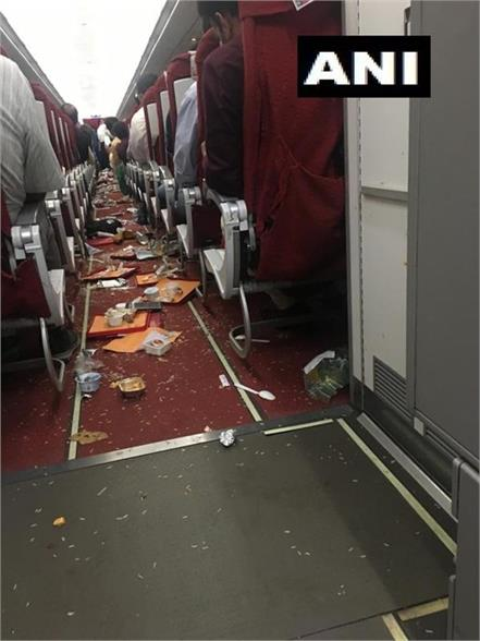 air india flight mishap due to fast windstorm