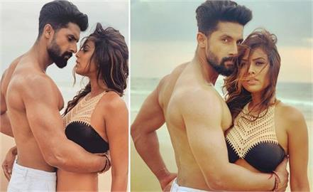 ravi dubey and nia sharma bold pictures viral on social media