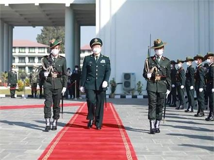 nepal  chinese defense minister