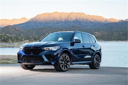 bmw x5 m competition launched in india
