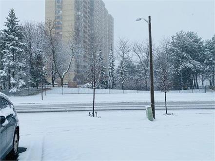 canada first snowfall