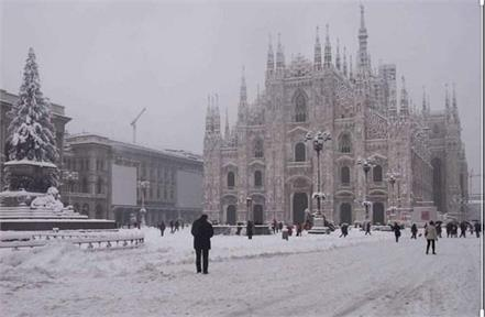 italy first snowfall