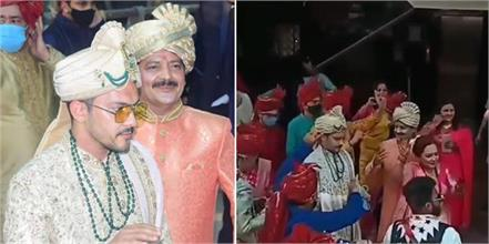 aditya narayan and shweta agarwal wedding viral videos and pics