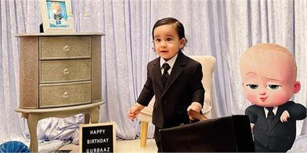 gurbaaz grewal boss baby look viral on social media