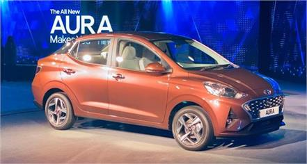 hyundai aura launched in india