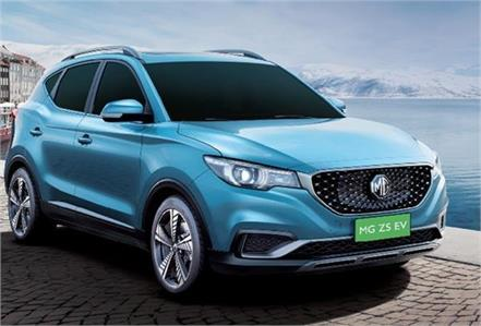 mg zs ev launched in india