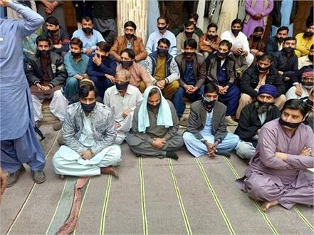 hindu sikhs protest in pak against conversion and rape of mehak