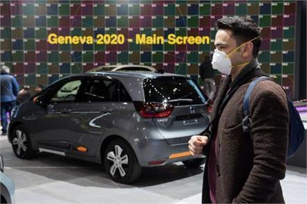 2020 geneva motor show canceled over coronavirus fears