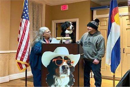 america  dog becomes mayor