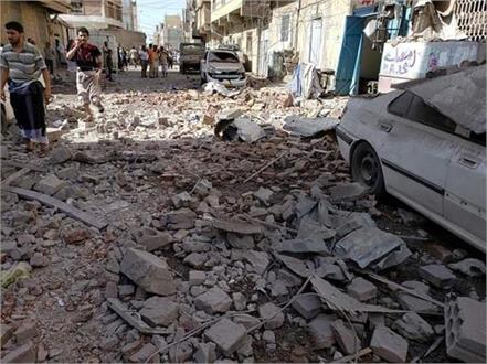 saudi coalition airstrikes in yemen kill 31