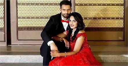 hanuma vihari reached the wall at midnight to meet his girlfriend