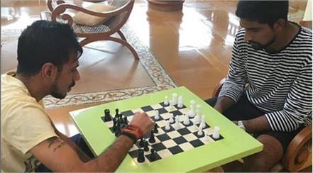 then try his hand at chess chahal