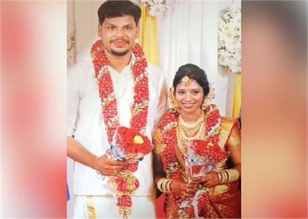 husband arrested for wife killed by snake in kerala