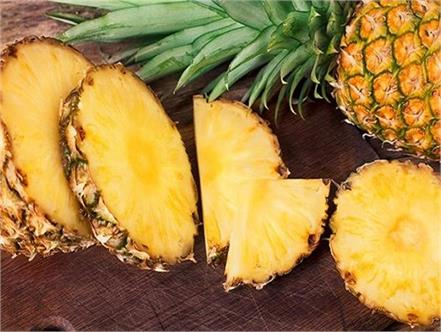 pineapple  benefits  blood circulation
