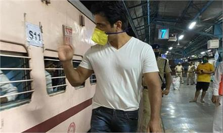 sonu sood sends over one thousands migrants to uttar pradesh and bihar by train