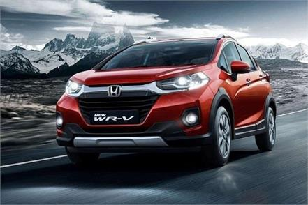 honda wr v facelift launched