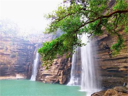 see the view of these beautiful waterfalls of the country