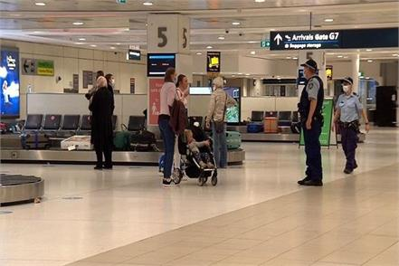 sydney airport dozens of passengers