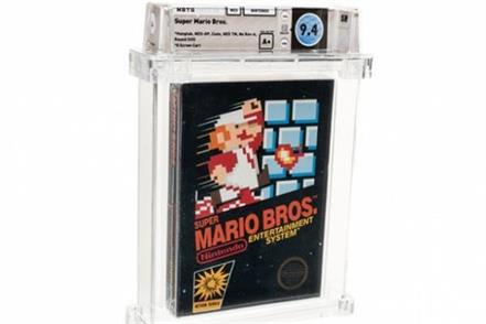 super mario bros breaks new sale record
