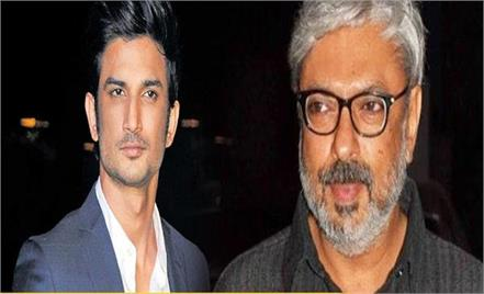sushant singh rajput and sanjay leela bhansali