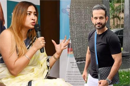 badminton star jwala gutta comes in favor of irfan pathan