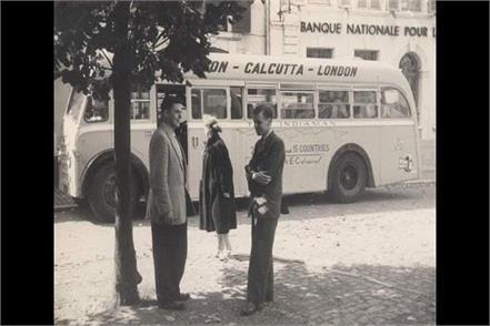 kolkata to london bus travel