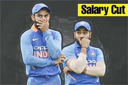rohit kohli s 30 salary will be cut