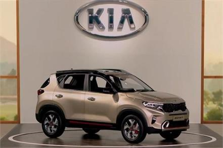 kia sonet suv makes global debut in india