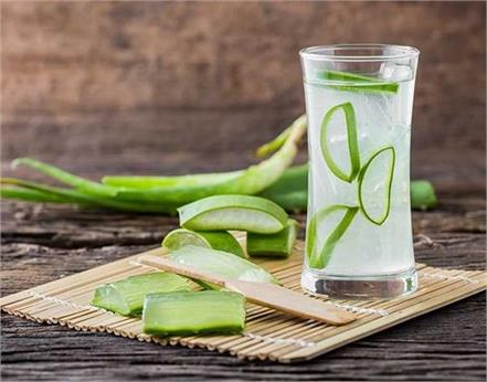 aloe vera juice skin body benefits