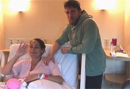 wwe star wrestler daniel bryan became father