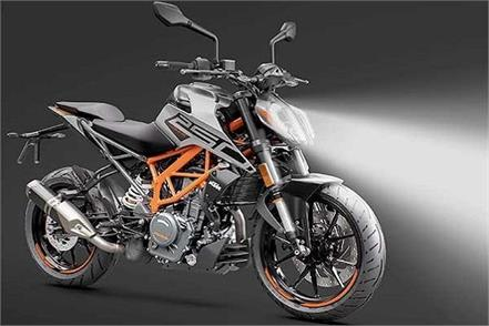 ktm 250 duke bs 6 launched with led headlights