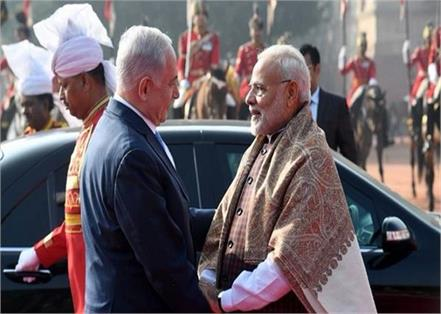 you have a lot to be proud of   netanyahu told india