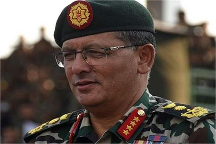 the nepal army and the army chief also became self isolated