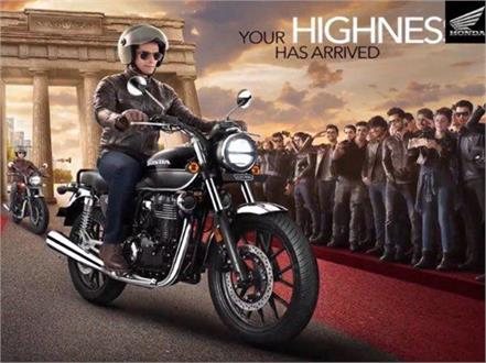 honda launches royal enfield rival motorcycle highness cb350