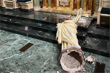 america  jesus  statue