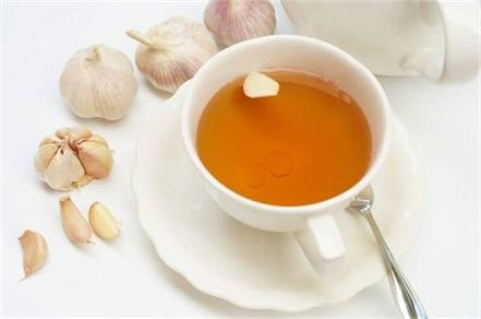 garlic  tea  blood circulation  diabetes  digestive   cholesterol